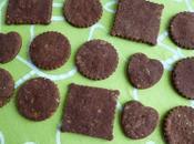 biscuits hyperprotéinés châtaigne cacao bambou sans gluten (diététiques, sucre beurre oeuf riches fibres)