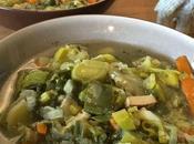 Poireaux bouillon thaï