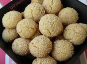 Petits biscuits amandes vanille