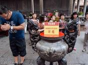 Pollution particules fines temple Longshan limite l'usage l'encens