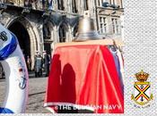 Anne Bree première femme francophone commandant navire M923 Narcis reçue Mons cité