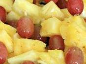 Brochettes Ananas Raisin