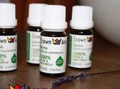 huiles essentielles naturelles Crown Aroma
