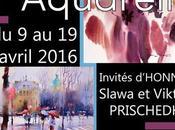 Première biennale l'aquarelle Coquelles