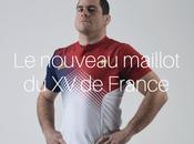 nouveau maillot l'équipe France Rugby
