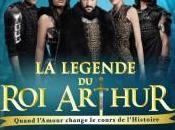 Légende Arthur tournée dans toute France Belgique