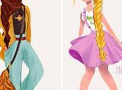 héroïnes Disney étaient filles d'aujourd'hui