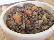 Lentilles courge butternut