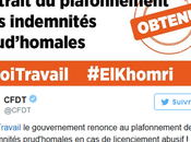 Salarié(e) sois rassuré(e) #CFDT négocié poids chaînes… #ElKhomri
