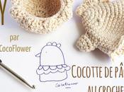 Cocotte crochet Couvre oeuf coquetier Poule Pâques