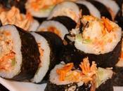Sushi Poulet Buffalo, doritos sauce ranch