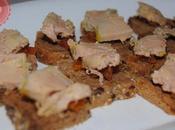 Toasts foie gras abricots