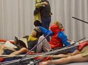 Papiers d'autrui Bovary avec Jacques Bonaffé théâtre Bastille Allégorie paix Danse Centre George Pompidou, Yves-Noël Genod