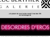 Galerie BERTHIER DESORDRES D'EROS 2016