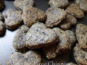 Petits crakers sésames noirs 黑芝麻盐酥饼