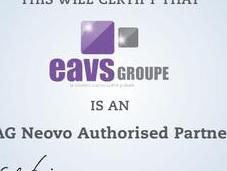 EAVS Groupe devient partenaire certifié Neovo