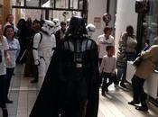 Star Wars rend visite enfants malades l'Hôpital Robert-Debré (Paris)