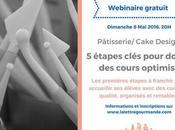 Invitation webinaire: Pâtisserie/ cake design, étapes clés pour donner cours