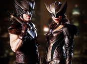 Legends Tomorrow Hawkgirl Hawkman quittent série