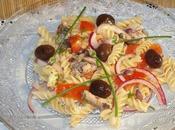 Salade pâtes sardines