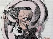 Richard Wagner dans l´Eclipse avril 1869, caricature Gill panégyrique cousin Jacques