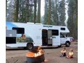Ouest Américain camping-car