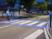 Innovation barrières lumineuses pour protéger piétons cyclistes