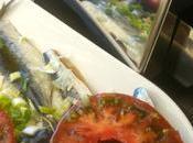 Plancha sardines froides sauce Xipister