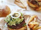 Burger mexicain {Boeuf Guacamole}