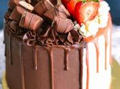Layer cake Bi-goût Kinder bueno Vanille fraise