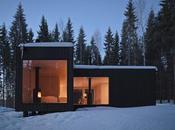 Cabane pour vivre dans bois