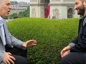 champion d'échecs Garry Kasparov interviewé Mouloud Achour