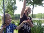 Animation pêche pour groupe scolaire