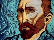 Nuit étoilée Gogh peinture l'eau