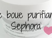 masque boue purifiant matifiant Sephora