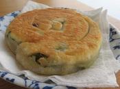 Yilan Cong bing Galette ciboules 宜蘭蔥油餅