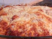 Gratin d'Aubergines Bacon/Chorizo Mozzarella
