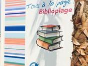 Biblioplage concept original plage Canet Roussillon