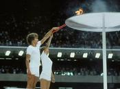 Retour d'allumage vasque olympique
