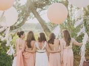 photos créatives avec demoiselles d'honneur