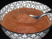 Mousse chocolat pois chiche