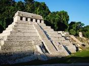 tunnel pour l'eau découvert sous tombeau Pakal Palenque