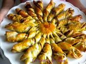 Soleil feuilleté pesto, pignons parmesan pour l'apéro