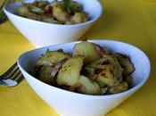 Pommes terre sautées lanières chou vert