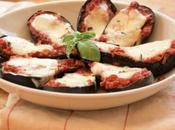 Aubergines, sauce tomate mozzarella