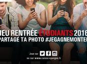 #CONCOURS rentrée étudiante plus sympa avec Caisse d'Epargne CEPAC
