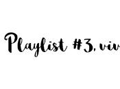 Playlist septembre 2016