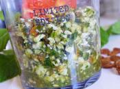 Sablé chou fleur herbes comme taboulé libanais