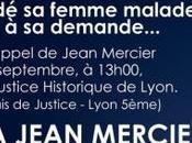 Manifestation soutien Jean Mercier Lyon
