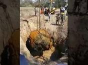 Découverte d'une météorite tonnes Argentine